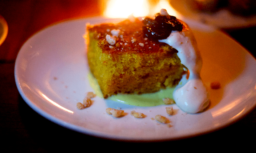 Olive Oil Cake from Sotto