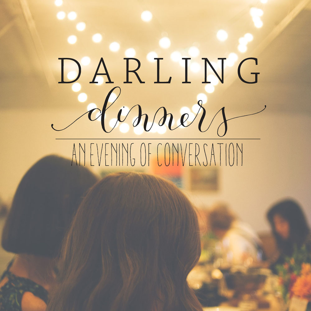 Darling Mag Dinner Flyer