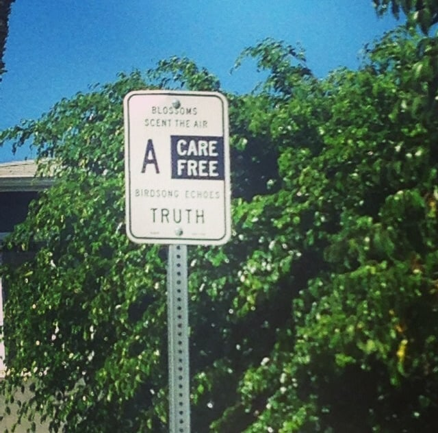 Only In LA: Street Sign