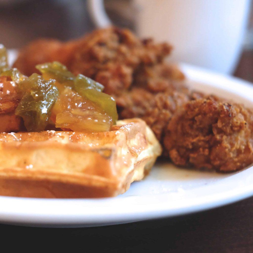 Simpatica Chicken n Waffles
