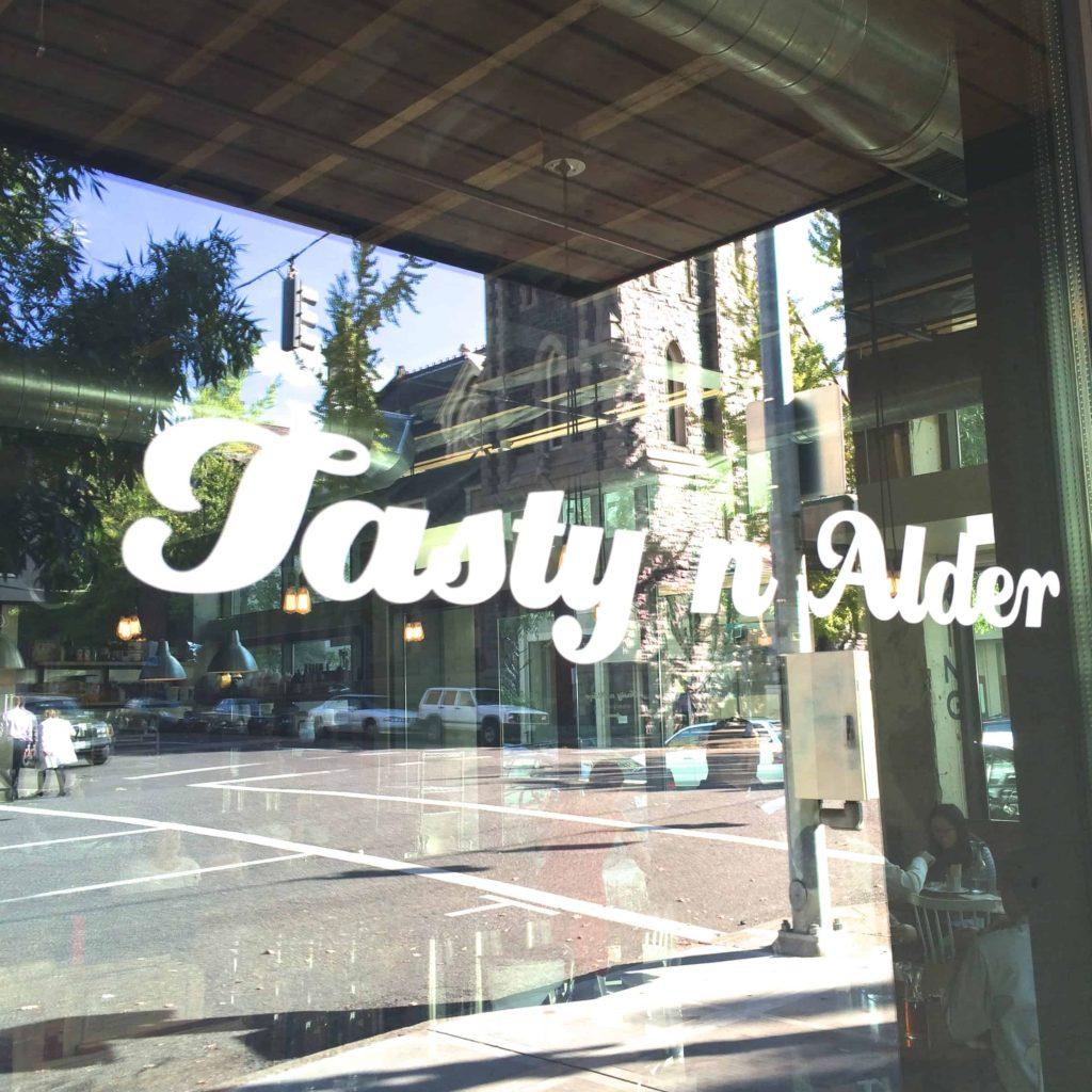 Tasty n Alder's Sign