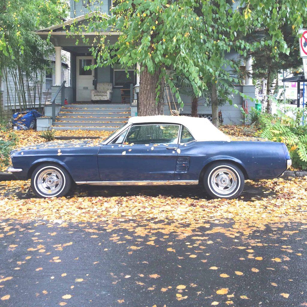Vintage Mustang Portland