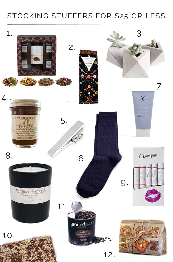 LA Holiday Gift Guide | Stocking Stuffers Under $25