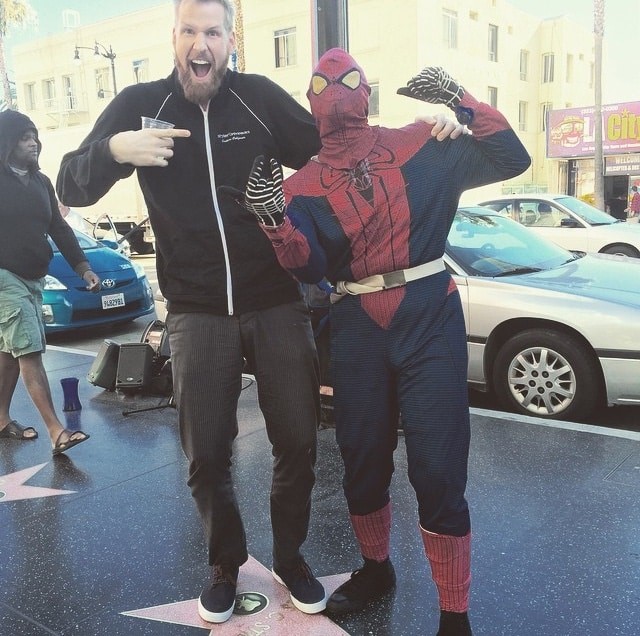 Only In LA: January 2015 Spider Man