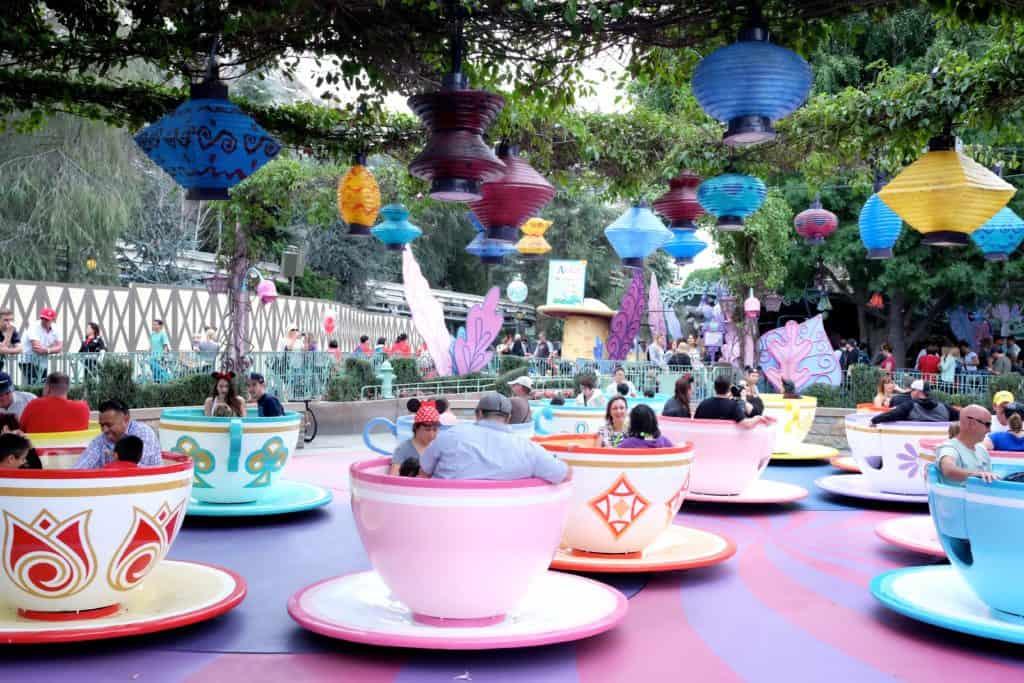 Tea Cups Disneyland