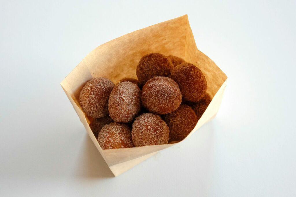 ICDC Cinnamon + Sugar Doughnut Holes