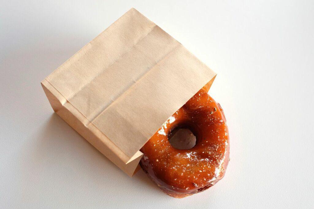ICDC Salt + Pepper Caramel Doughnut