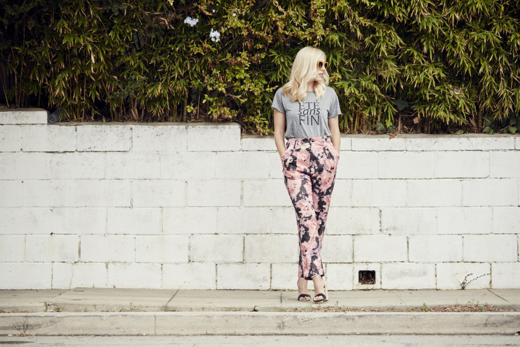 Love & Loathing LA: Floral Printed Trousers