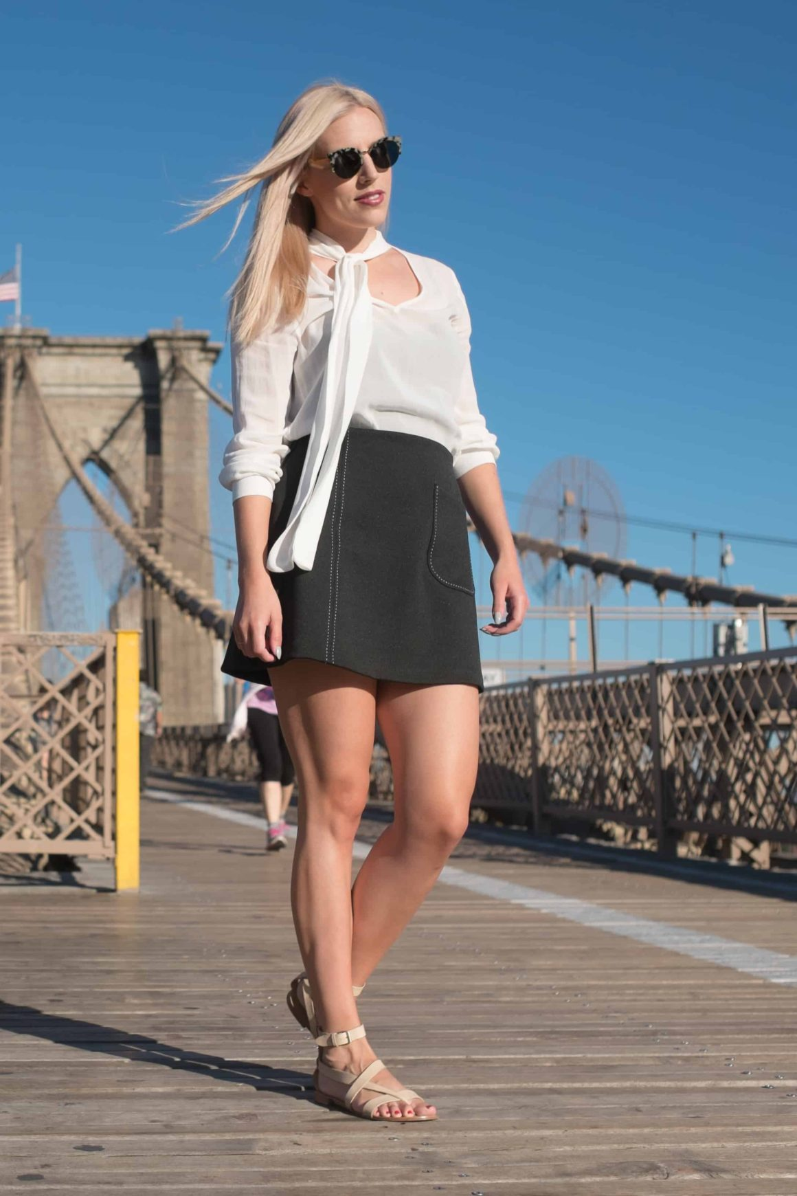 Mod Child In the City   Fall Miniskirts