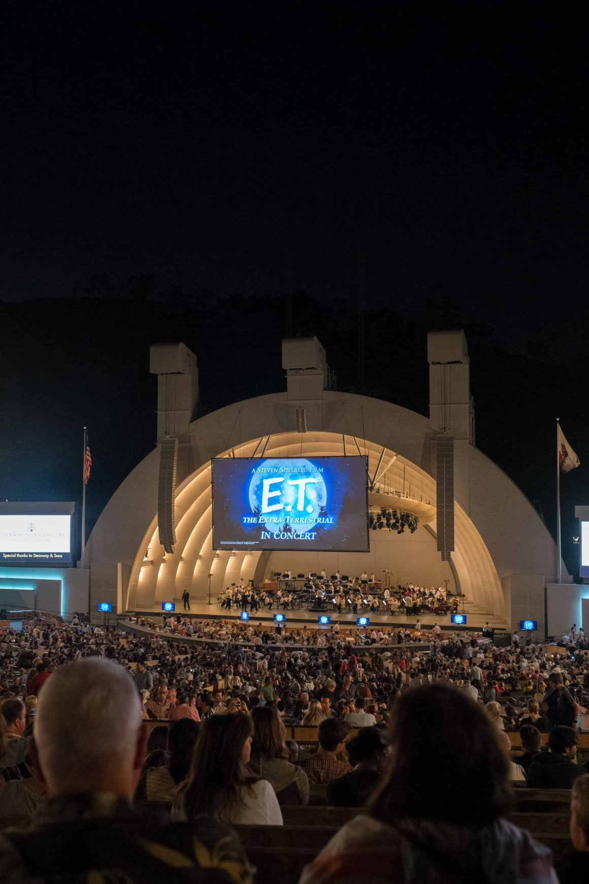 Week No. 14   E.T. In Concert at The Hollywood Bowl
