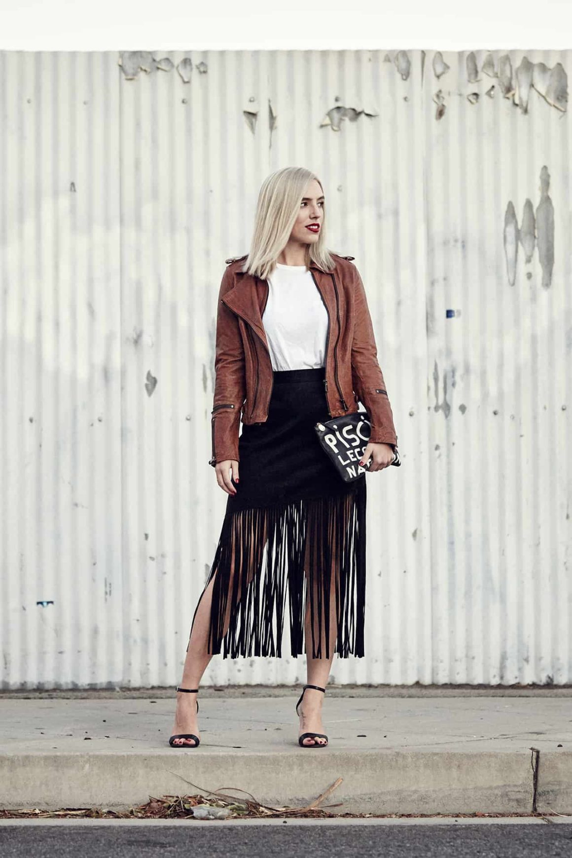 Latest Love: The Fringe Skirt.