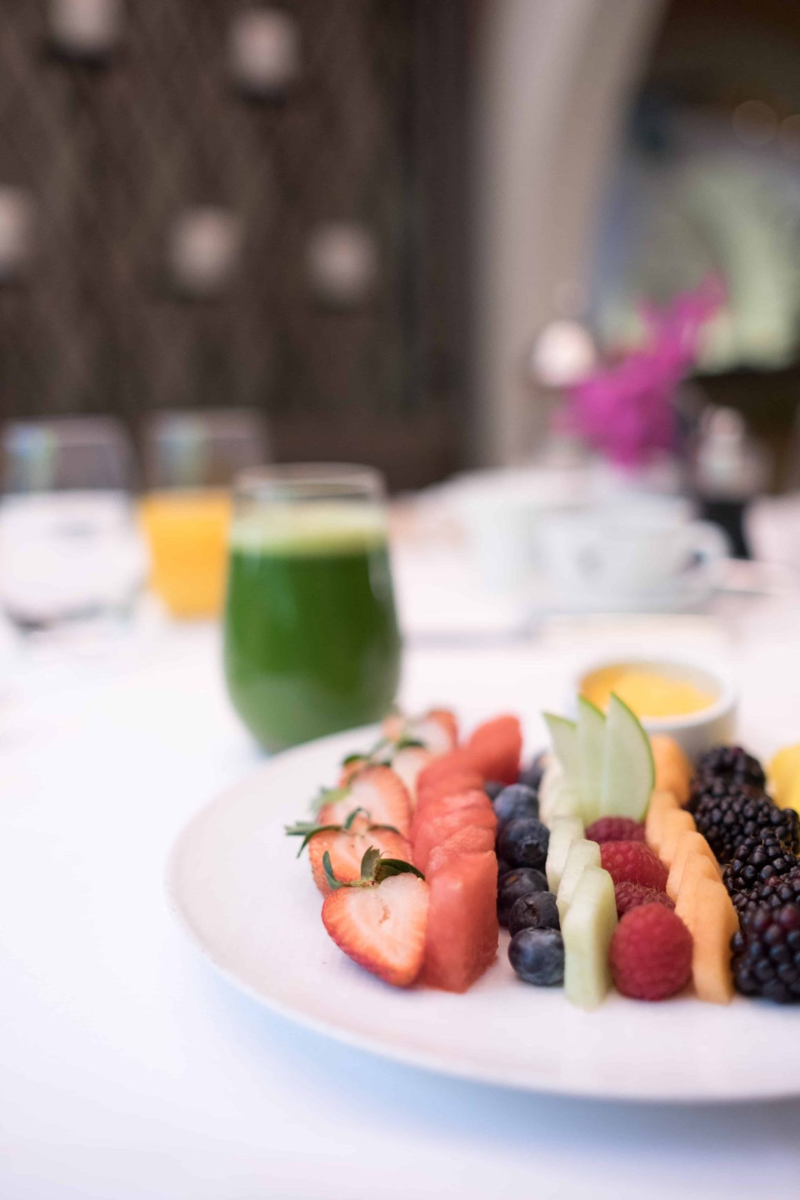 BREAKFAST AT HOTEL BEL AIR