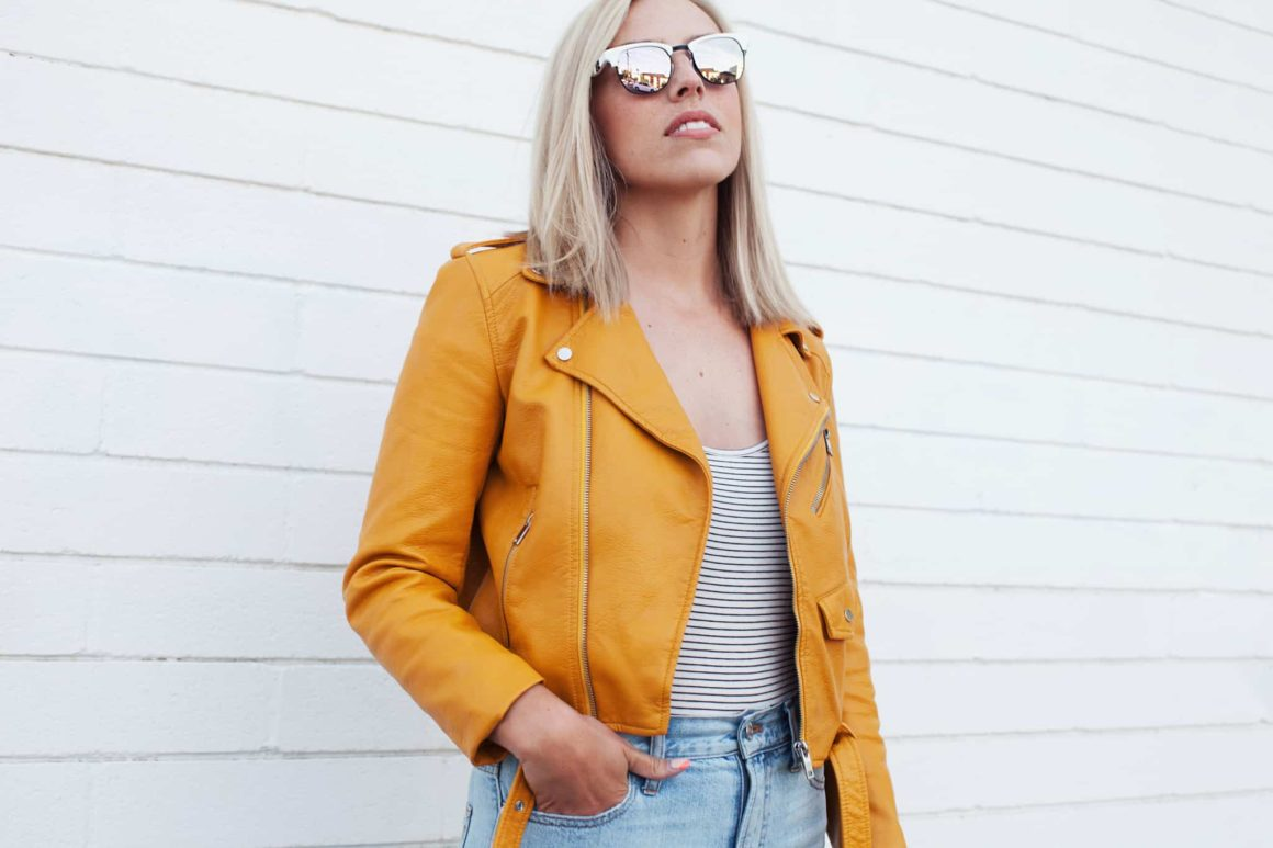 LEMON YELLOW LOVE // STATEMENT JACKET FOR SPRING + SUMMER