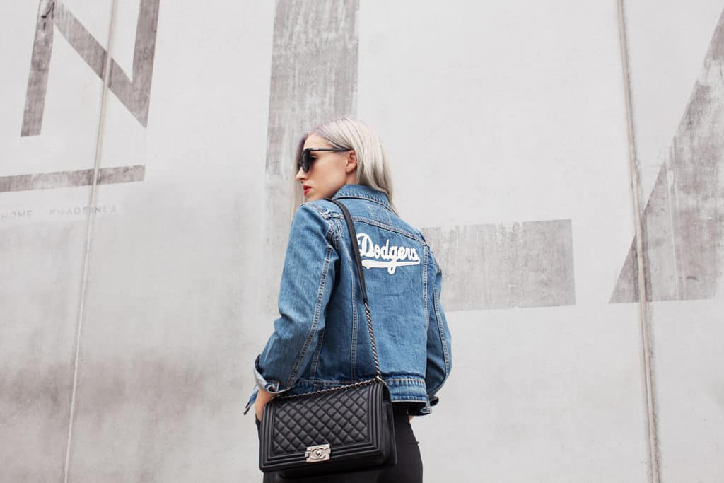 Love and Loathing LA Embroidered Denim