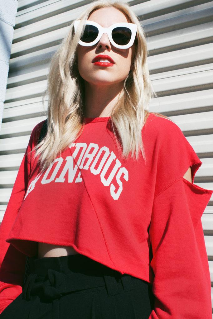 Love and Loathing LA Sweatshirts Cutouts