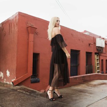 A NIGHT OUT ON THE TOWN IN TULLE