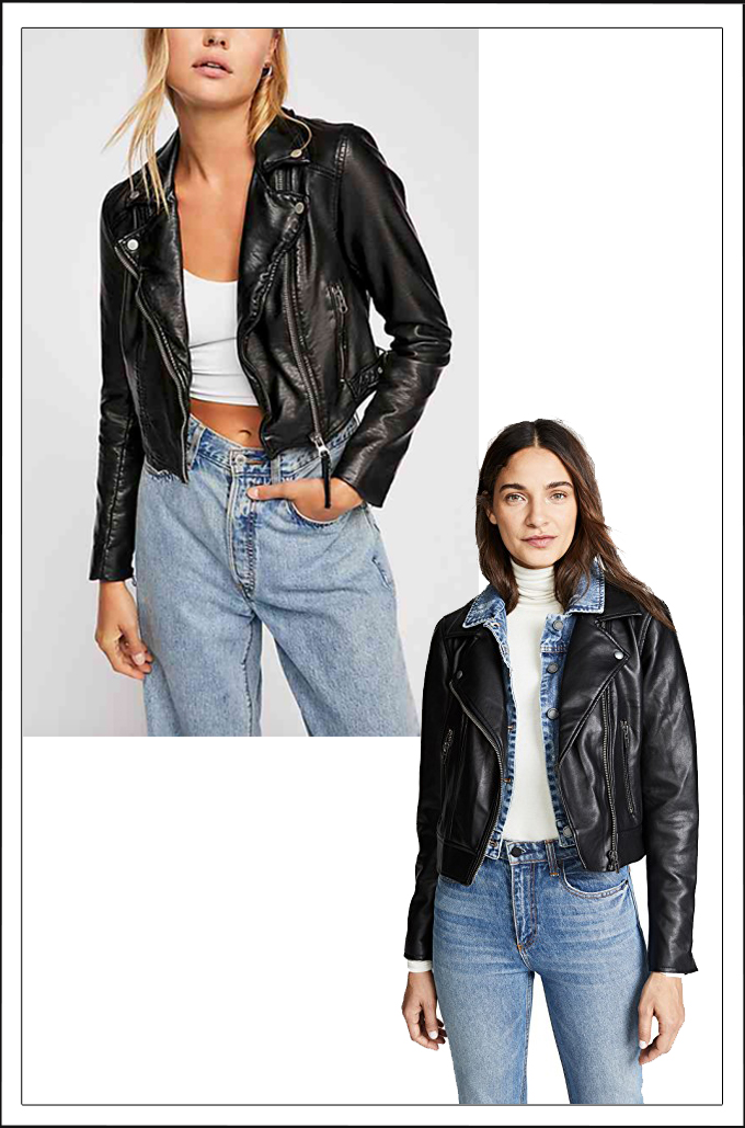 """Vegan Leather Jackets 