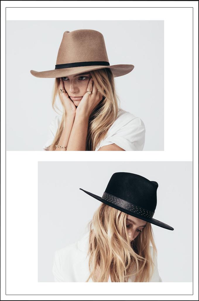 Janessa Leone Felt Hats