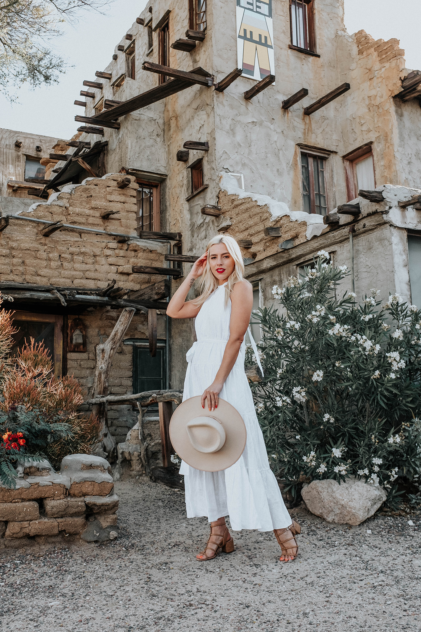 summer white maxi dress