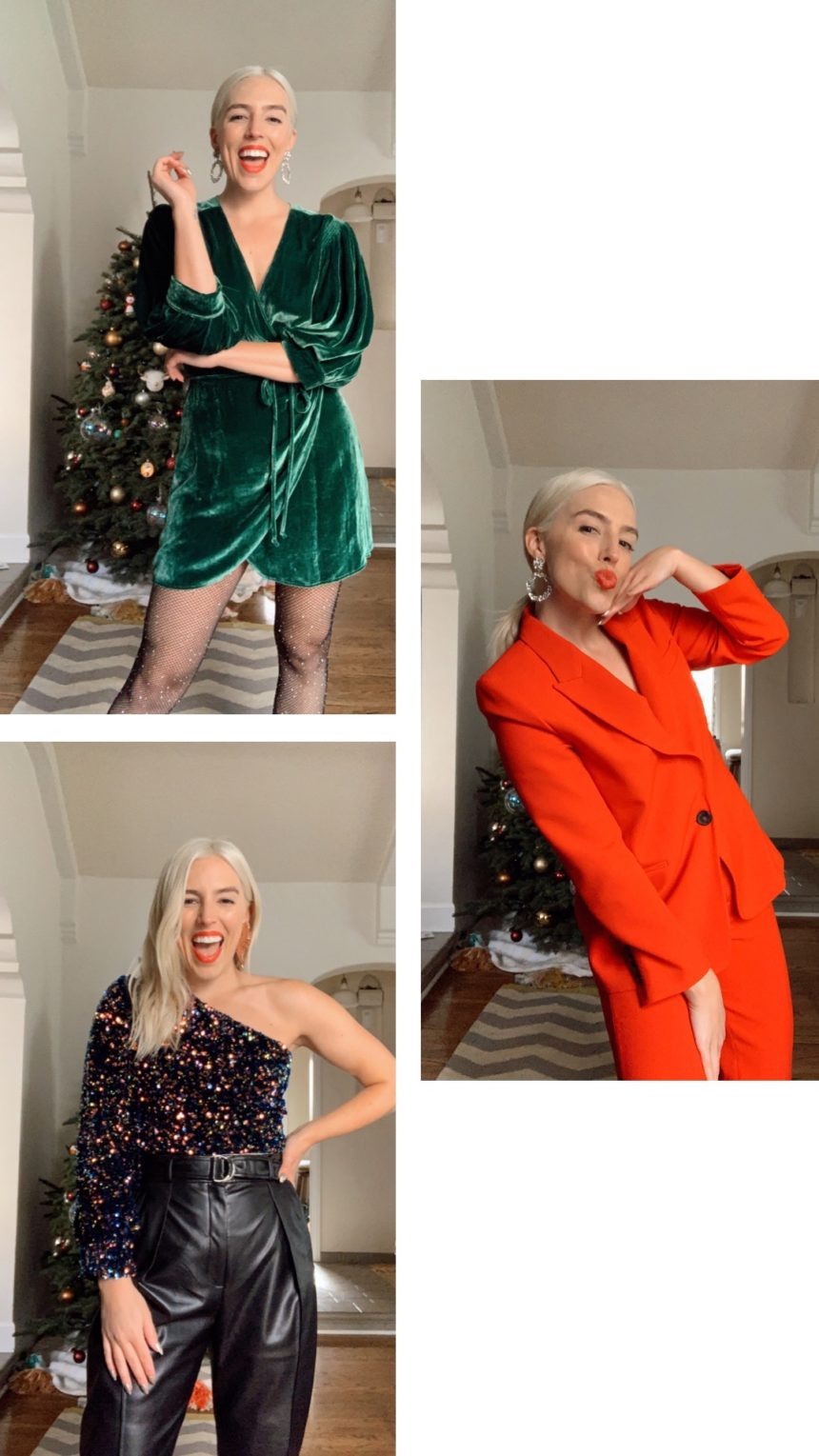 HOLIDAY STYLING VIDEOS: RED, VELVET, & SPARKLE