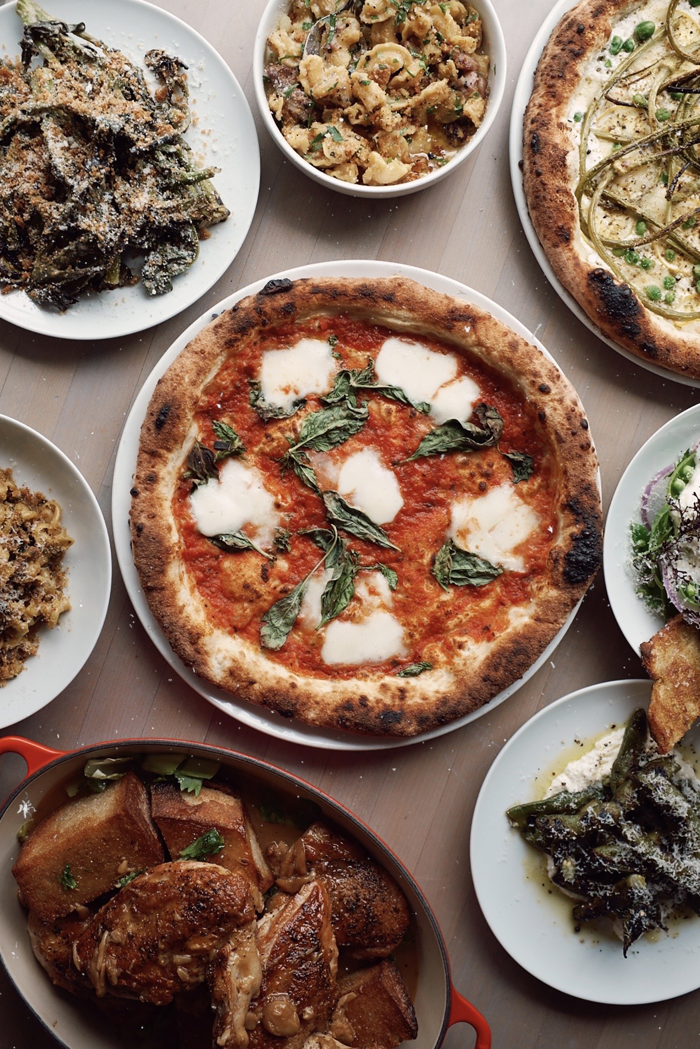LA restaurants with delivery options